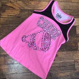 5 for $15 Justice cheer shirt